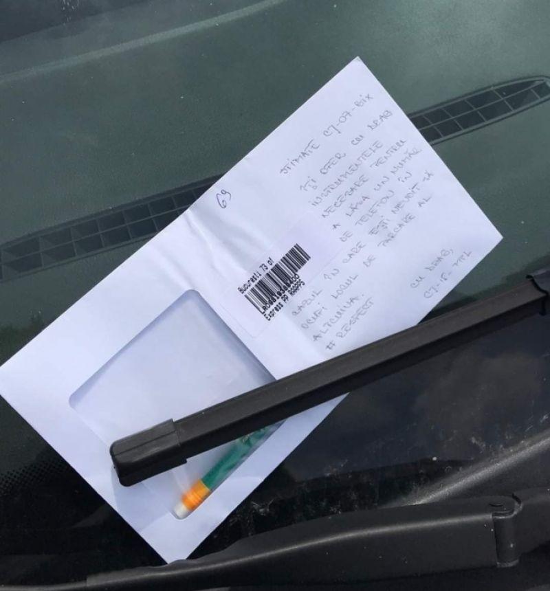 Ce a făcut un şofer din Cluj când şi-a găsit locul de parcare ocupat. Gestul său te lasă fără cuvinte