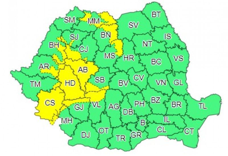 Weekend cu vijelii și disconfort termic accentuat în Maramureș și alte 14 județe. Meteorologii spun că vor fi peste 33 de grade săptămâna viitoare