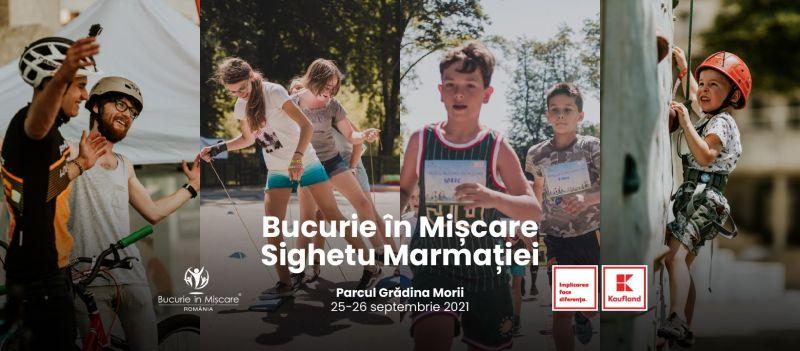 """""""Bucurie în mișcare"""" la SIGHETU MARMAȚIEI - O nouă ediție a evenimentului de promovare a sportului și mișcării în comunitate"""