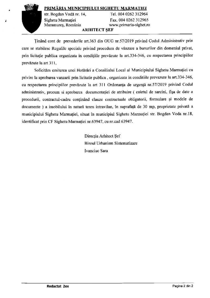 BUFURI PE FINAL DE MANDAT - Se pregătește VÂNZAREA unei bucăți din aleea pietonală din Sighet