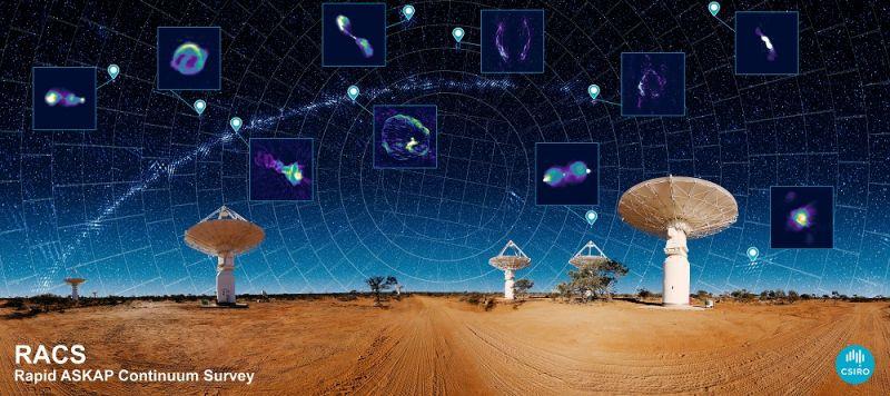 Un telescop spaţial din Australia a cartografiat spaţiul îndepărtat într-un timp record