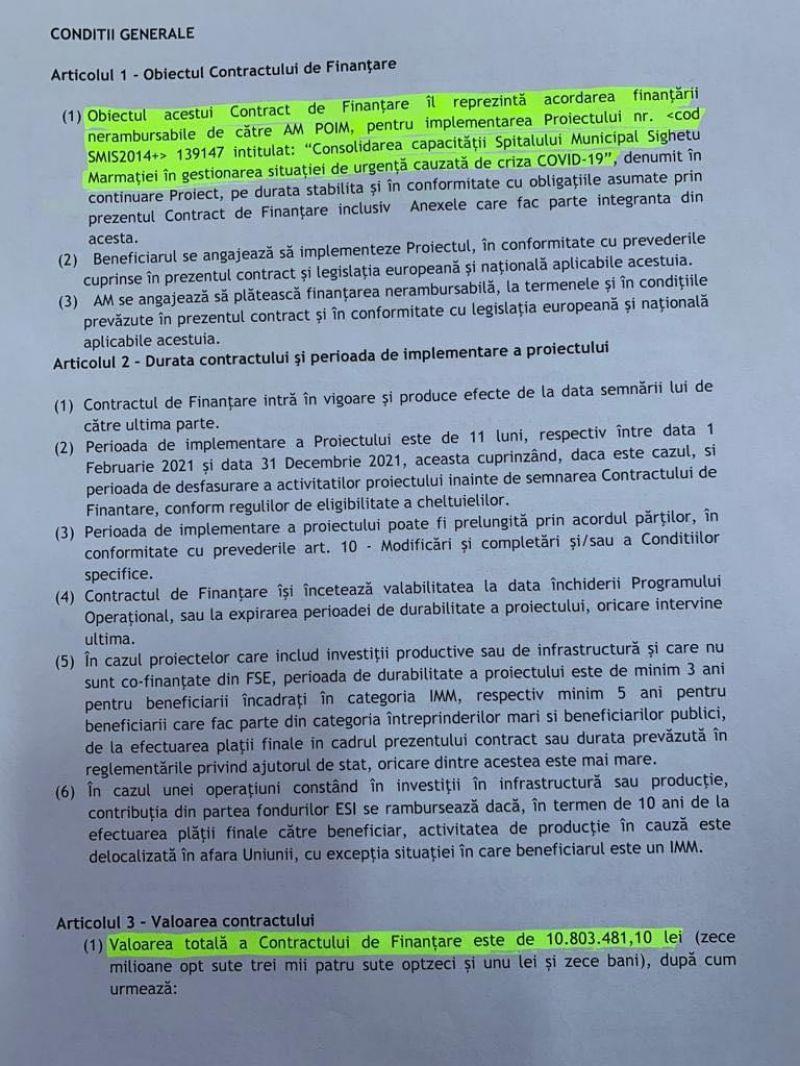 Spitalul Municipal Sighetu Marmației a semnat un nou contract de finanțare nerambursabilă de la Uniunea Europeană